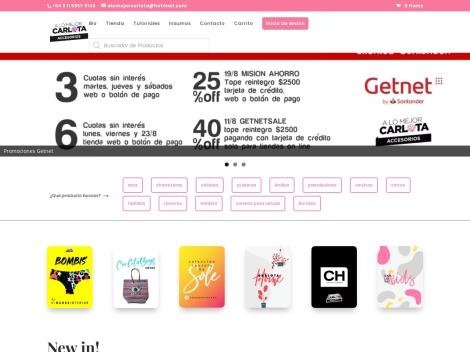"""Tienda online de """"A lo Mejor Carlota"""" Bijouterie y Accesorios de Moda"""