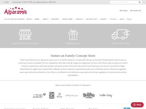 Tienda online de Alparamis