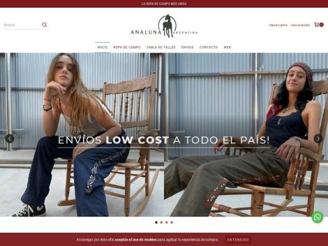 Tienda online de Analuna Ropa de Campo