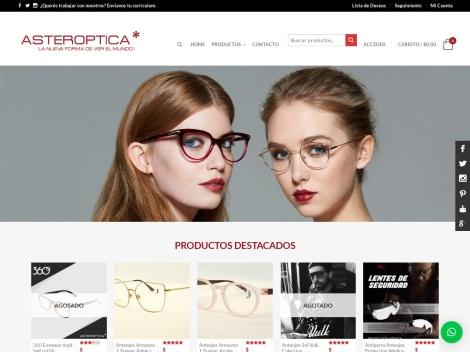 Tienda online de Asteroptica – Venta de Anteojos