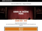 Cours de theatre Paris - Avenue du Spectacle
