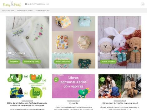 Tienda online de Baby Party