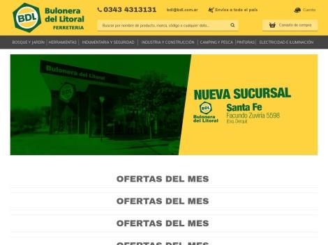 Tienda online de Bulonera del Litoral