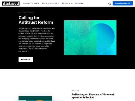 The Mozilla Blog