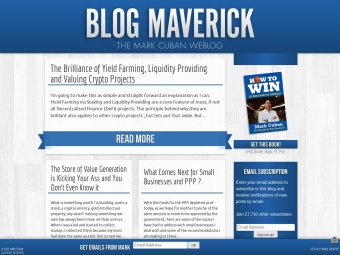 Blog Maverick