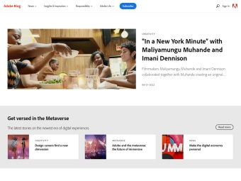 Adobe Blogs