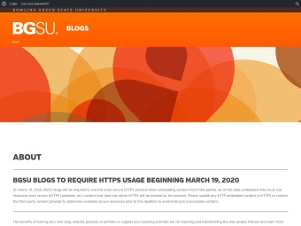 BGSU Blogs