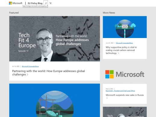 Microsoft Europe Policy Blog