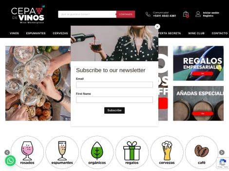 Tienda online de Cepa de Vinos