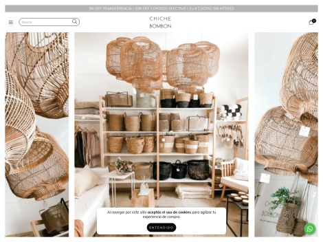 Tienda online de Chiche Bombon