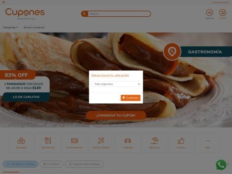 Tienda online de Cupones MDP