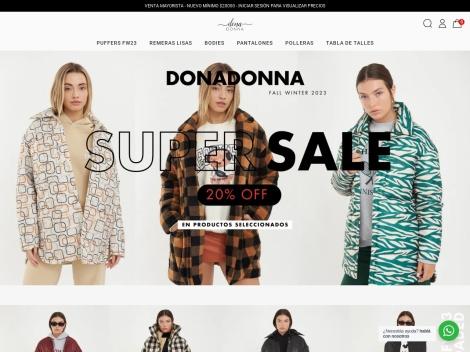 Tienda online de DonaDonna (Mayorista de Moda Argentina)