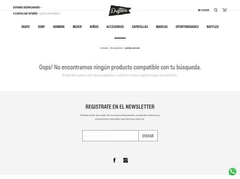 Tienda online de Anteojos de Sol 2017 en Drifters