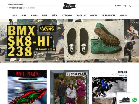 Tienda online de Drifters Skateshop
