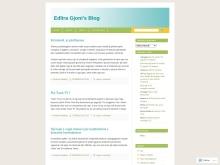 Blogu i Edlira Gjonit