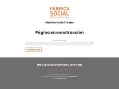 Venta online de Tienda Nube en Fábrica Social de Techo Argentina