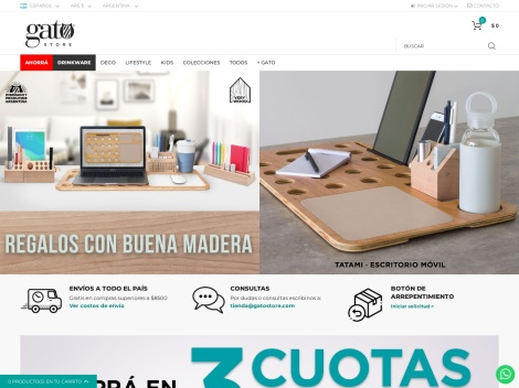 Tienda online de Gato Store