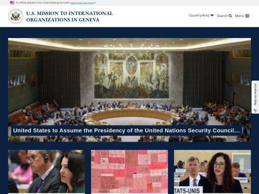 United States Mission Geneva