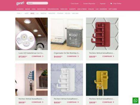 Tienda online de Gorsh Decoración