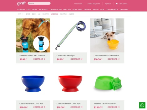 Tienda online de Productos para Mascotas en Gorsh