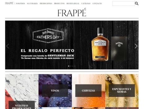 Tienda online de Venta de Vinos por internet: Vinoteca Frappé
