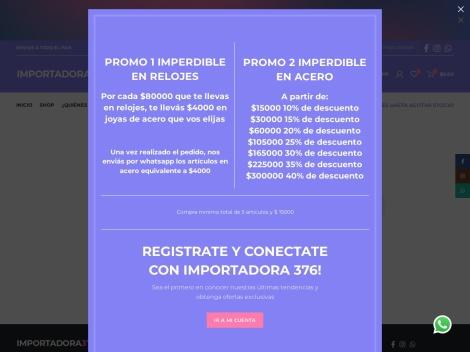 Tienda online de Importadora 376 – Mayorista de Joyas