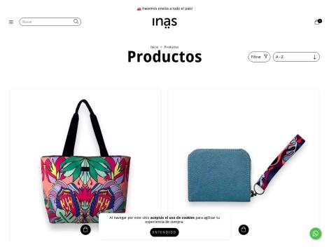 Tienda online de INAS Carteras