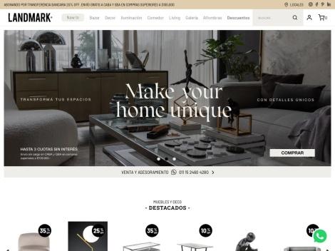 Tienda online de Landmark