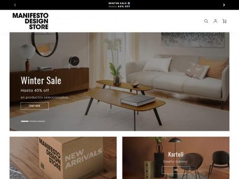 Tienda online de Manifesto Design Store