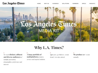LA Times Media Kit