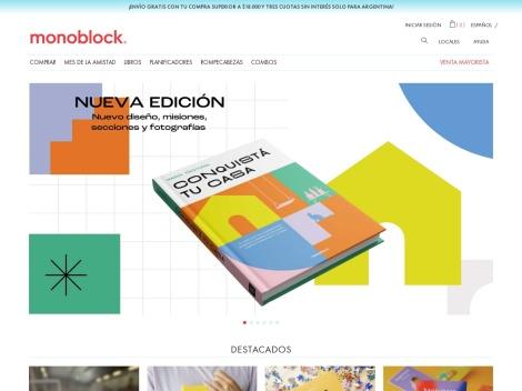 Tienda online de Monoblock.tv Cuadernos