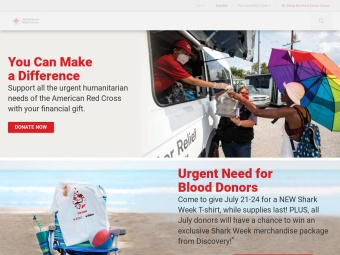 American Red Cross Online Diaster News Portal