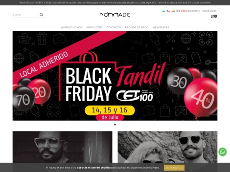 Tienda online de Nómade Anteojos
