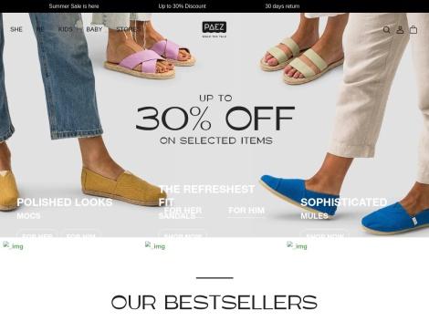 Tienda online de Alpargatas Paez
