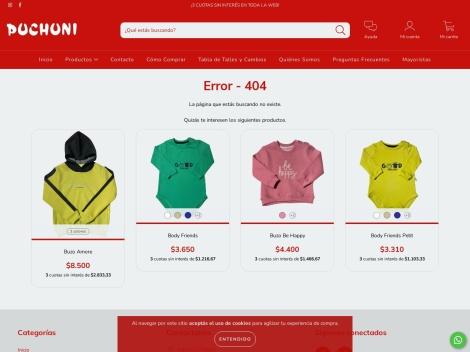 Tienda online de Puchuni