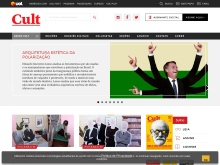 Site da Revista Cult