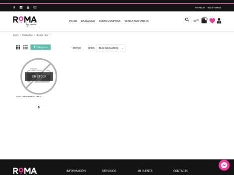 Tienda online de Bikinis 2019 de Roma by Rochi
