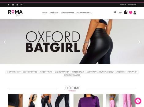 Tienda online de Roma by Rochi (Ropa de Lycra)