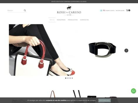 Tienda online de Rossi & Caruso Zapatos y Carteras
