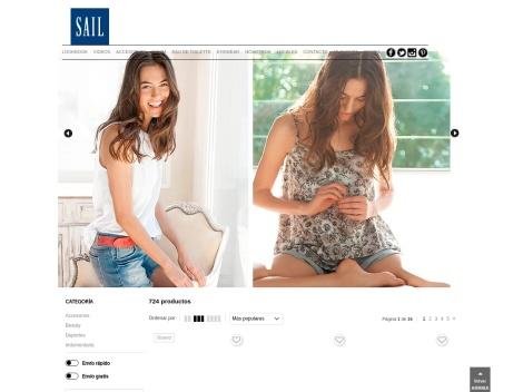 Tienda online de SAIL Basics | Tienda Online de Ropa