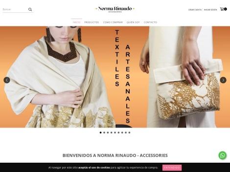 Tienda online de Norma Rinaudo