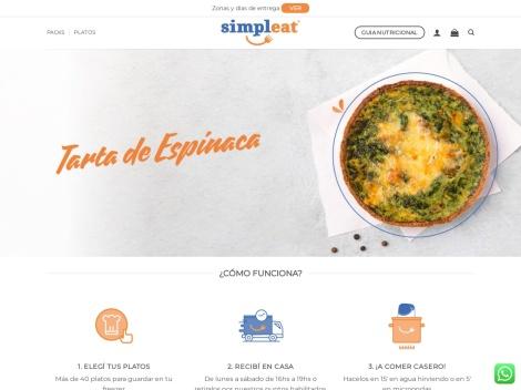 Tienda online de Simpleat Argentina: Alimentos Congelados