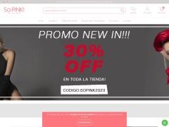 Venta online de Pijamas en So Pink!