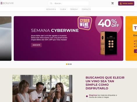 Tienda online de BonVivir – Club de Vinos