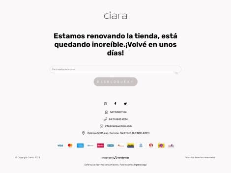 Tienda online de Vestidos Ciara