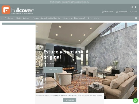 Tienda online de Revestimientos Fullcover Argentina