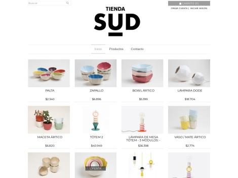 """Tienda online de Artesanías de Cerámica """"SUD"""""""