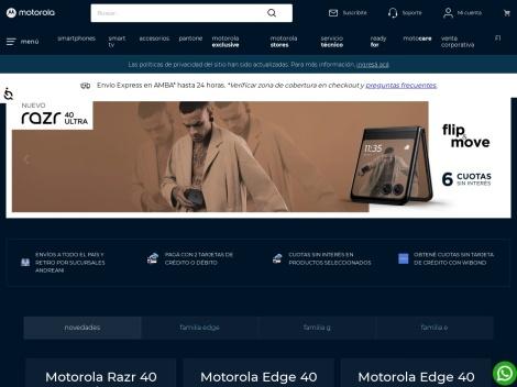 Tienda online de Motorola Tienda Virtual