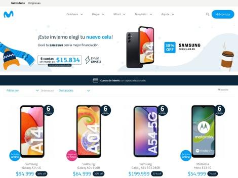 Tienda online de Tienda Movistar Argentina