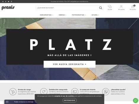Tienda online de Galería Praxis